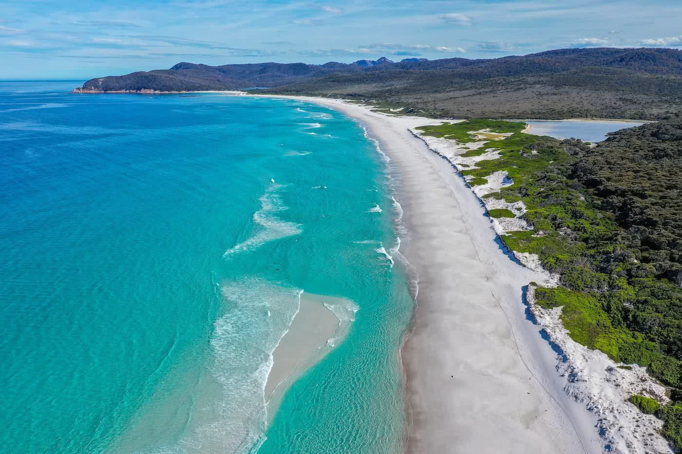 The Power Of A Fatal Shore :: Freycinet Peninsula (TAS) Craig Peace drone, beach, blue seas