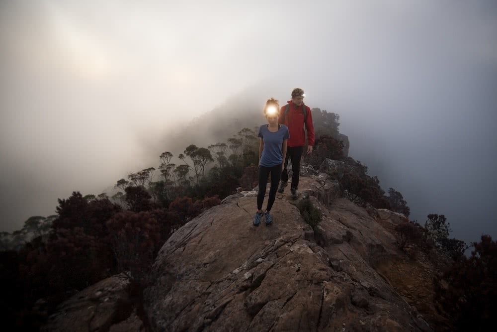 How To Choose A Great Pair Of Hiking Boots (And Why You Need Them), Photos by Jake Anderson, Merrell, choosing hiking boots, tasmania, hiking, trail running, mid-cut, low-cut, ridge, headtorch