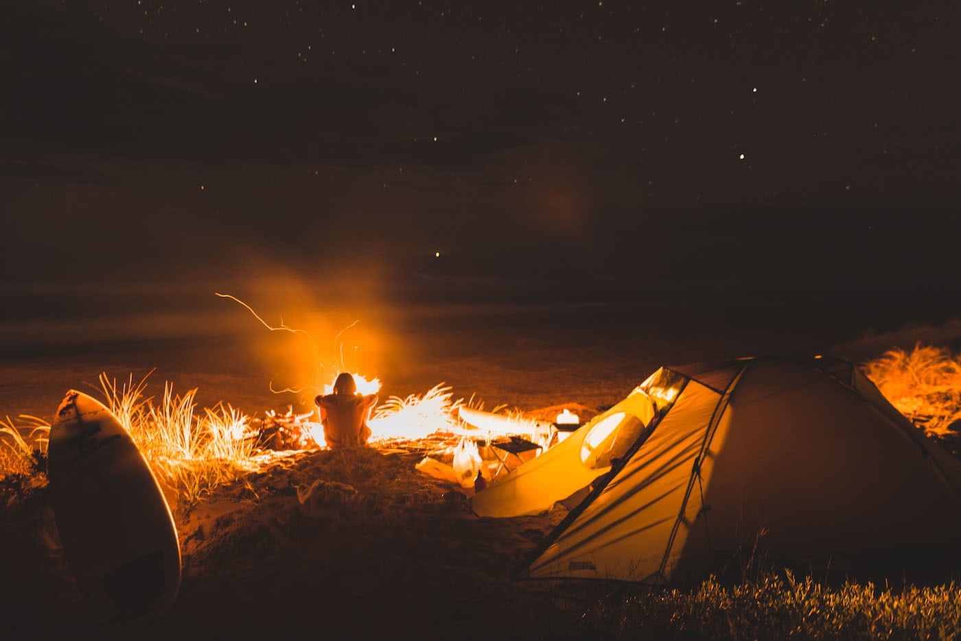 The Best Camping Near Melbourne, shot by Pat Corden, Gippsland, campfire, beach, coastal, camping, victoria, near melbourne
