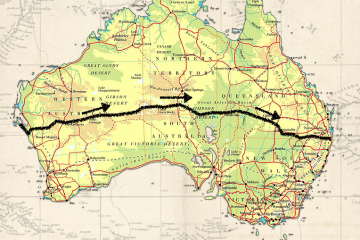 Duo Begin Cycle Across Red Centre In Expedition Dust, brando yelavich, loren kett, bikepack, red centre