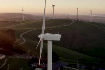 2040, documentary, screenshot, damon gameau, wind turbine, environment