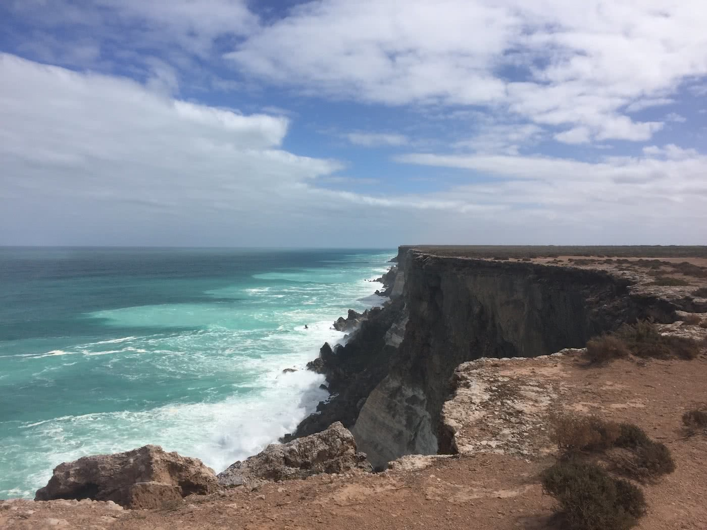Highlights From Crossing The Nullarbor Plain Ashlee Kehoe-Sporton cliff, ocean, great Australian Bight