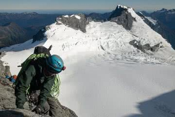 I Went Mountaineering To Find Out What All The Fuss Was About, photo by Tim Ashelford, Mt Aspiring, Tititea, mountaineering, NZ, Wanaka, Arcteryx
