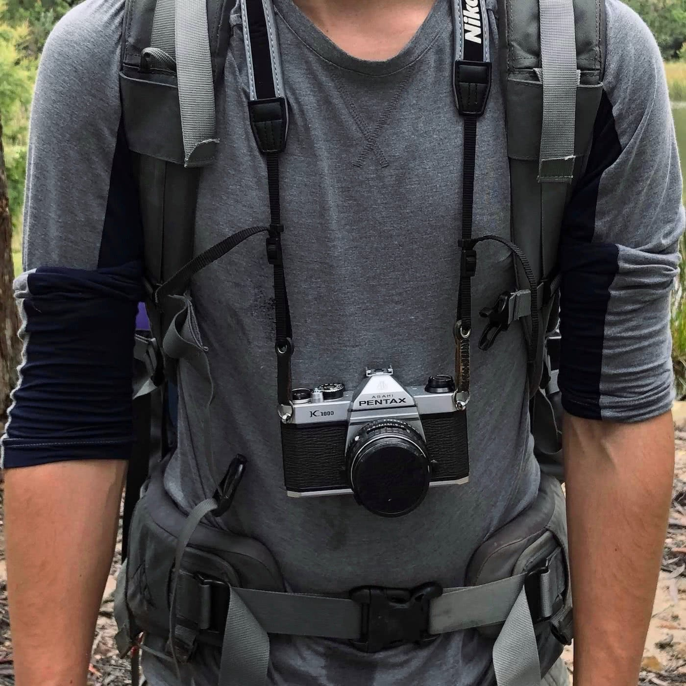 An Explorer's Guide To Hiking With A Camera by Zac de Silva how not to strap in your camera
