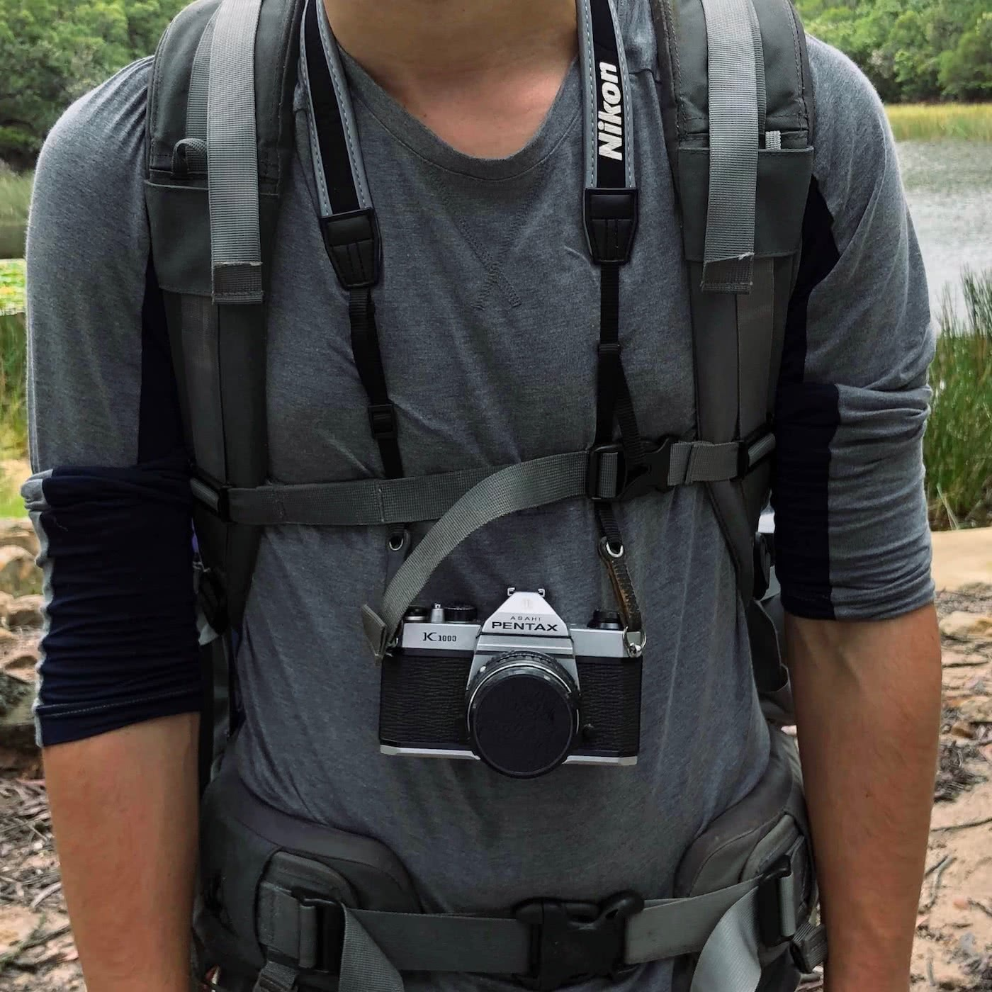 An Explorer's Guide To Hiking With A Camera by Zac de Silva how to strap in your camera