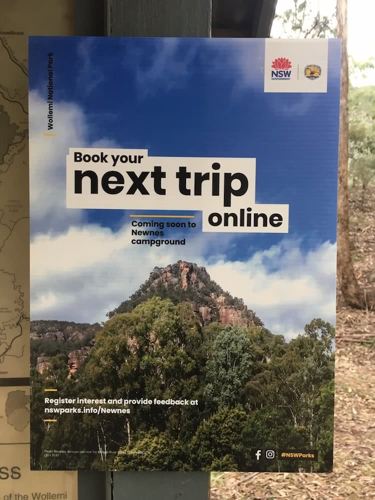 Paid Camping Comes To Newnes Campground, photo by Wolgan Valley Eco Tours, NSW NPWS
