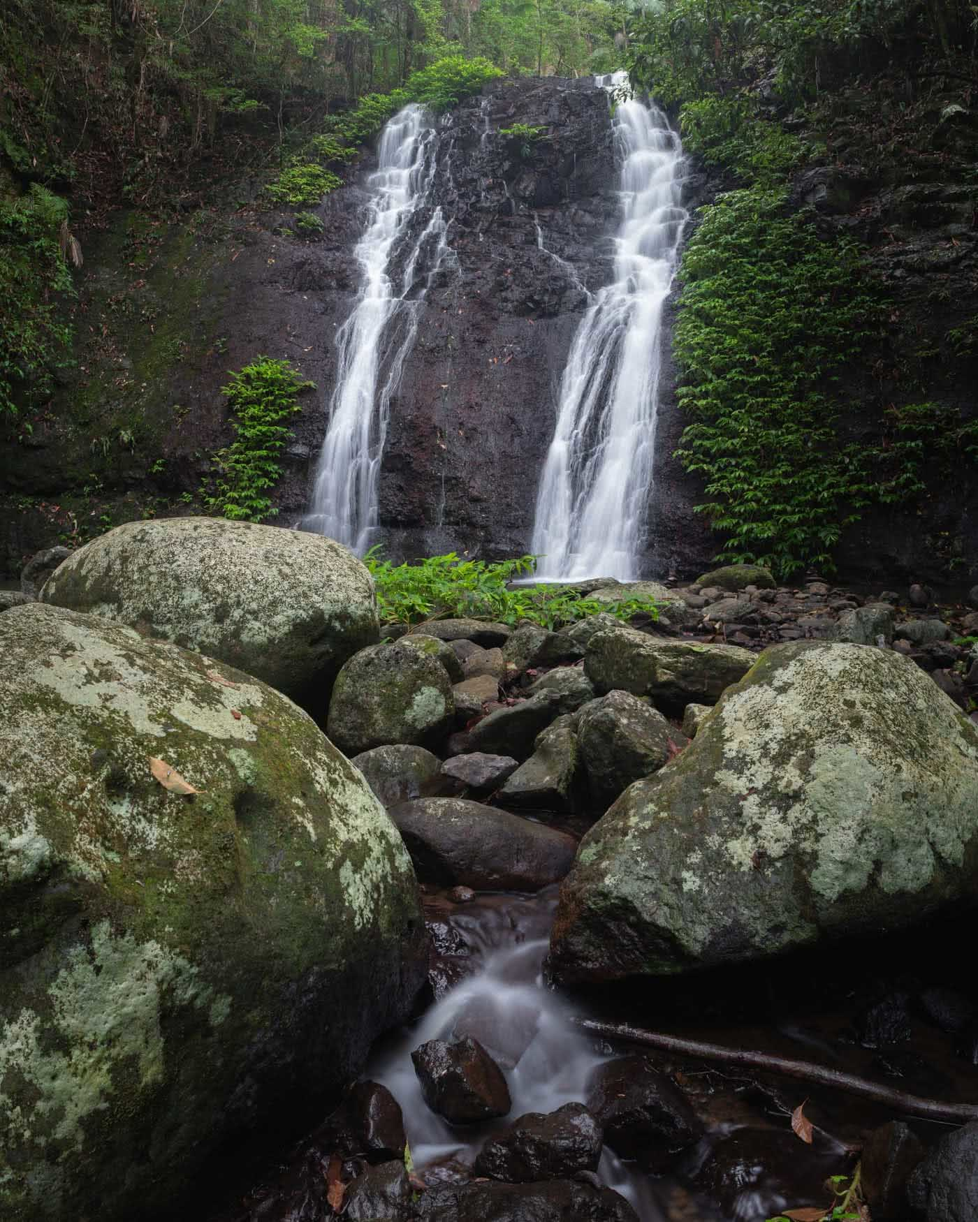 A Step Back In Time // Border Ranges National Park (NSW) by Conor Moore Brushbox Falls, waterfall
