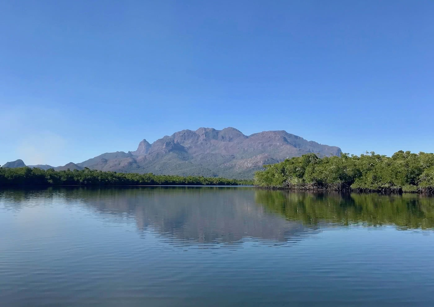 The Best Multi-day Hikes in Queensland Gabrielle_Boisseau_KGari mountain, lake, reflection