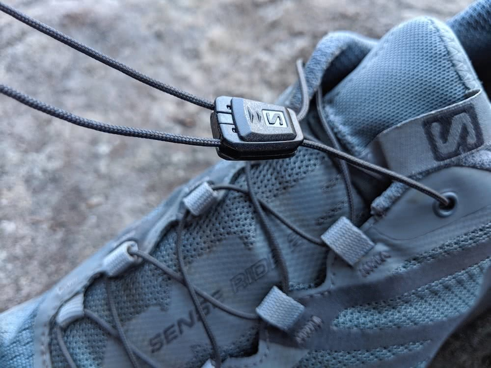 Salomon Sense Ride 2 Trail Runners // Gear Review, by Aidan Howes, trail running, laces