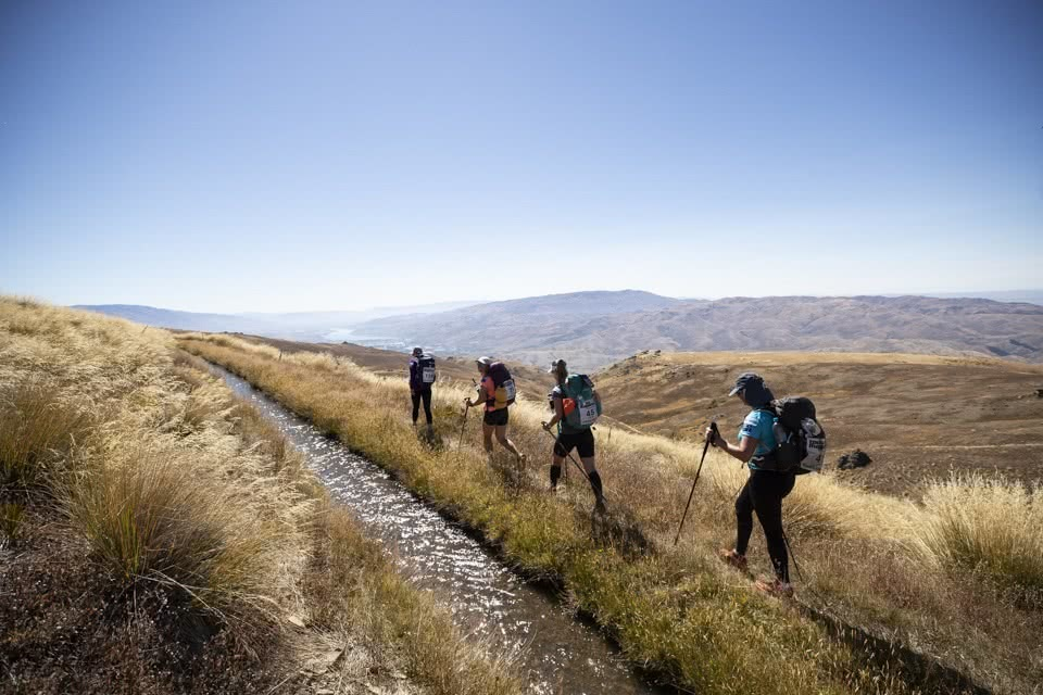 RacingThePlanet – The 250km Race Across New Zealand by She Went Wild trail running, hiking poles, endurance race