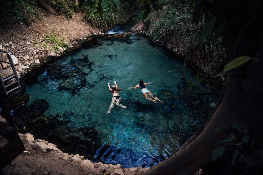 9 Top End Waterholes That Are Perfect For Wild Swimming, Katherine, hotsprings, photo by Jonny Melon, Top end, northern territory