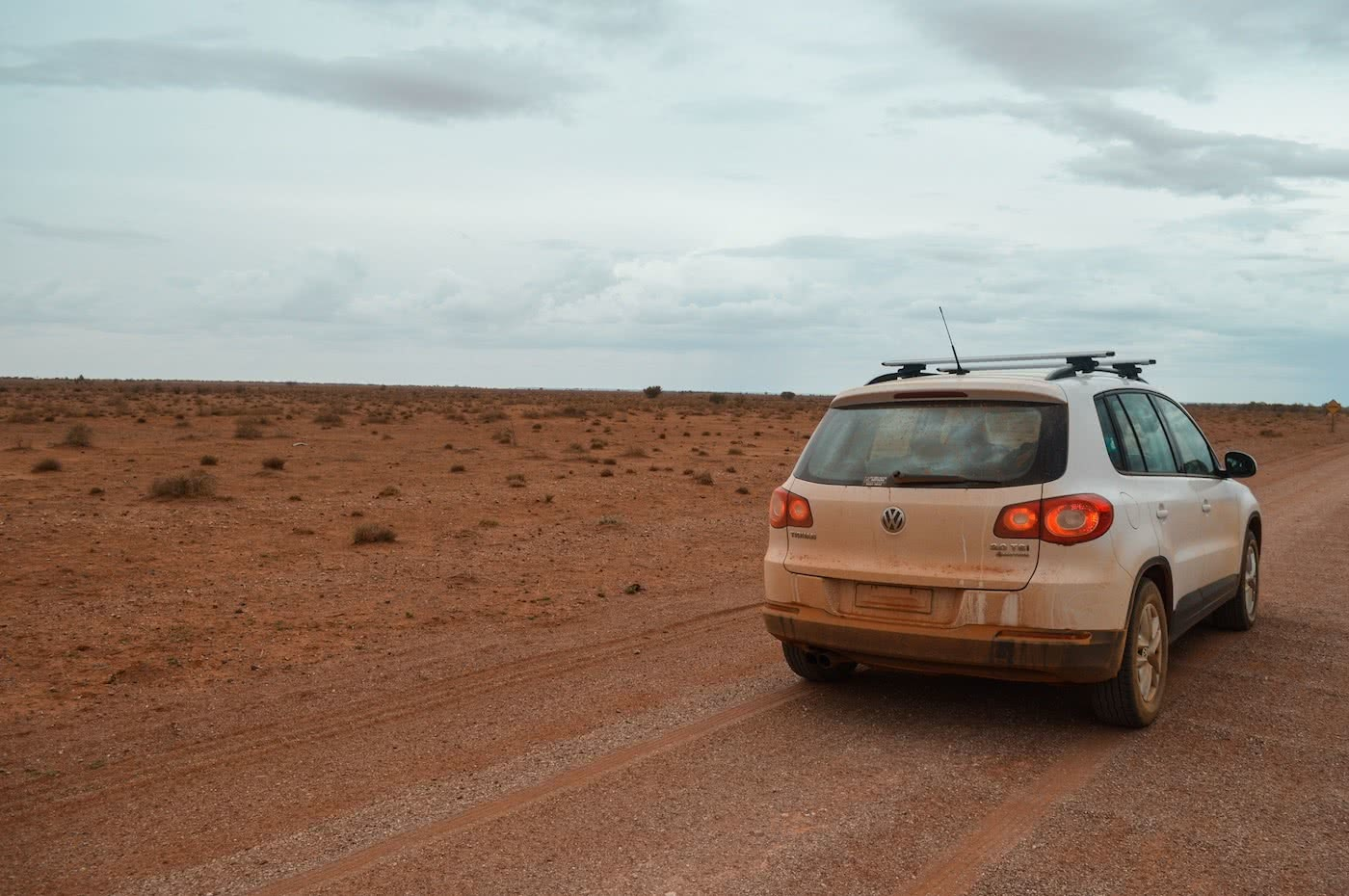 Taking Tiguan to the Outback // Gundabooka & Mutawintji National Parks (NSW) by Natalie Hardbattle, VW Tiguan, dusty car