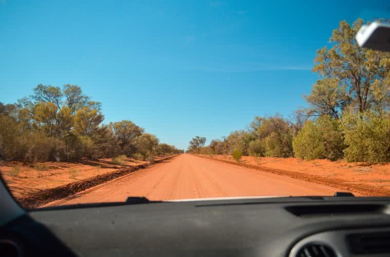 Taking Tiguan to the Outback // Gundabooka & Mutawintji National Parks (NSW) by Natalie Hardbattle, driving, those outback roads