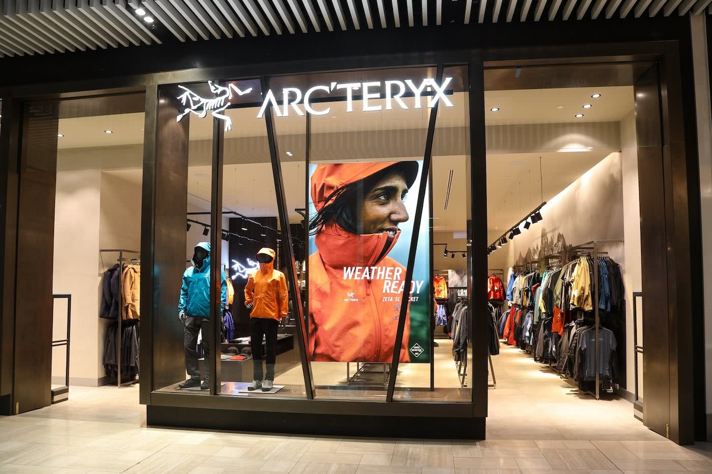 New Flagship store Arc'teryx Melbourne Store Front by Mattie Gould