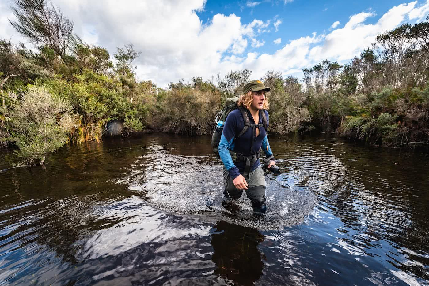 It's Time For Aussies To Learn How To Stay Warm photo by Pat Corden swamp crossing, merino baselayers