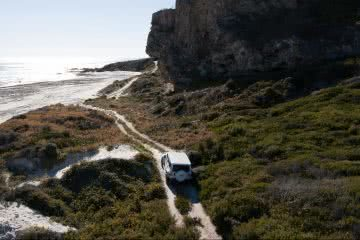 Photo by Corey Kirwen, Jeep, Western Australian, 4WD, beach