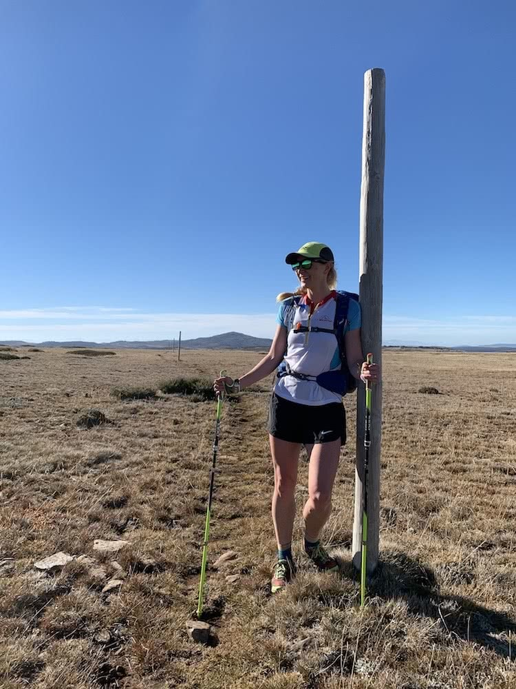 Lucy Clark Is Running The Length Of New Zealand, photo of Lucy Clark, running, trail running, te araroa, new zealand
