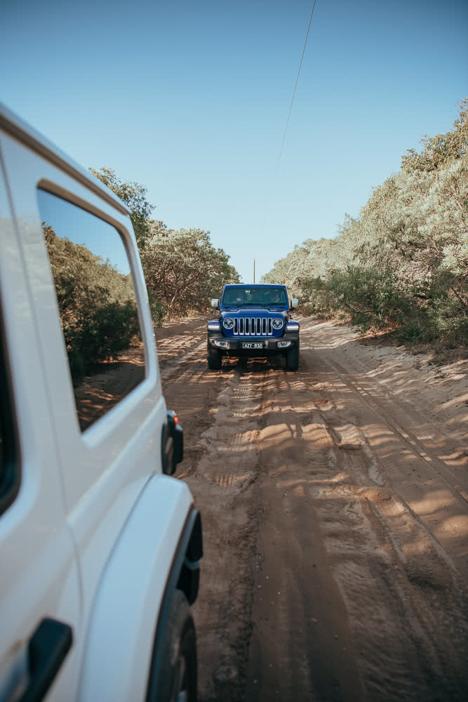 Photo by Nick Cooper, Jeep, Western Australian, 4WD, beach
