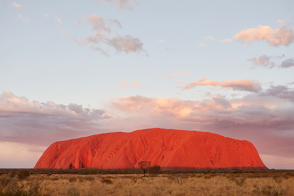 Uluru sunset viewing area, photo by Matt Cherubino, Uluru, Northern Territory