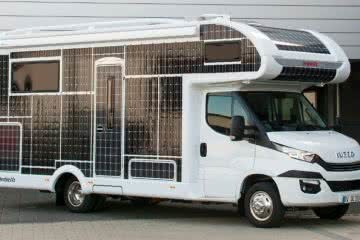 Is This Solar Powered Electric RV The Future Of Vanlife? by Jack Brookes photo by Dethleffs