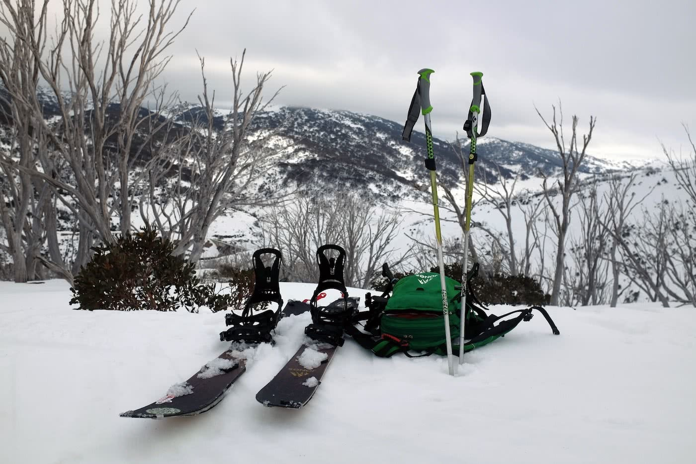 7 Rad ways to spend your $1080 tax refund by Mattie Gould, photo by Mattie Gould, splitboard hire, backcountry skiing