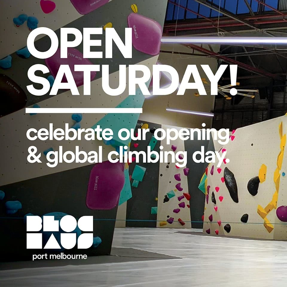 Bloc Haus Port Melbourne New Bouldering Gym