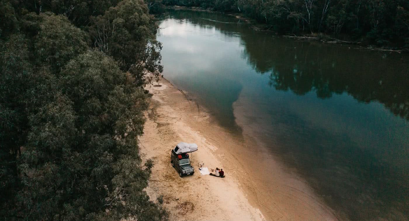 Will You Murray Me? – It's Time For A Murray Region Weekender by Conor Moore, camping, lake