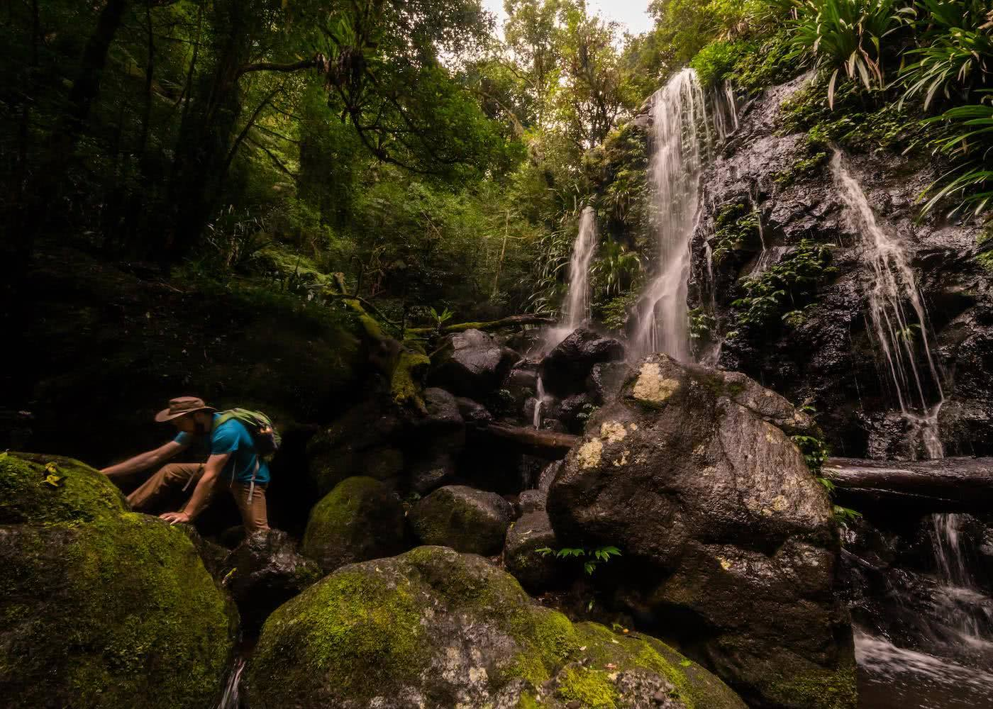 5 Reasons You Should Go Hiking In Queensland by Saphira Schroers, photo by Miranda_Fittock waterfall