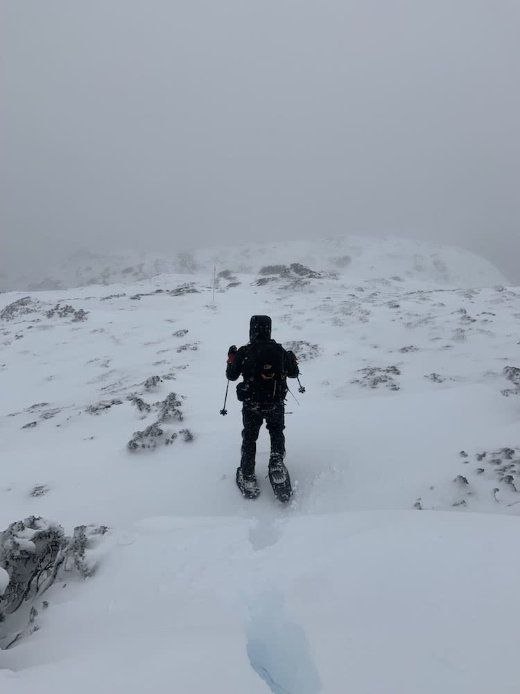 You Can Walk The Overland Track For Free (But There's A Good Reason), photo by Dom Douglas, overland track, cradle mountain lake st clair, multi day hike, snow, tasmania, snowshoes