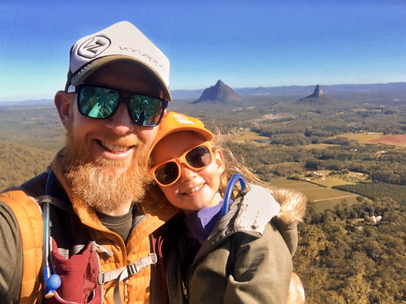 Here's to the AdventureDadz™, father and daughter, outback