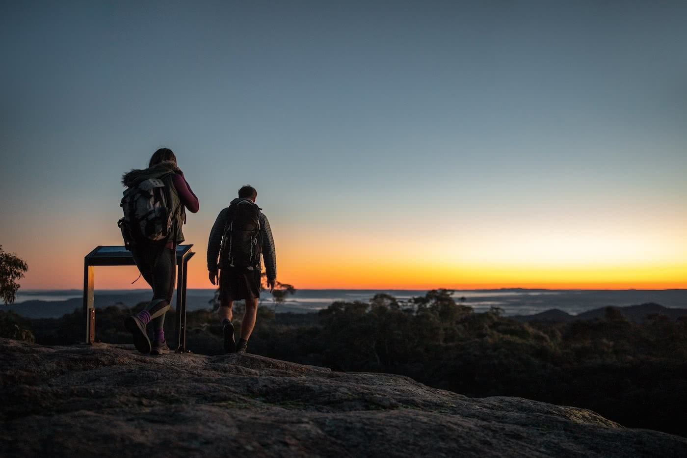 Will You Murray Me? – It's Time For A Murray Region Weekender by Conor Moore, hiking, sunset