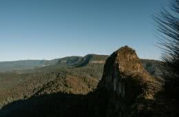A Jurassic Peak Hidden In The Hinterlands // Mount Cougal (QLD) by Rhys Tattersall, view of Mt Warning