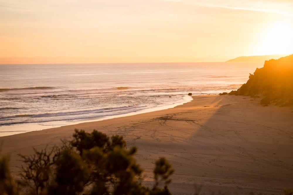 Quiet Camping & Cracking Clifftops // Aire River - Great Ocean Road (VIC), photo by Lachlan Fox, beach, sunset