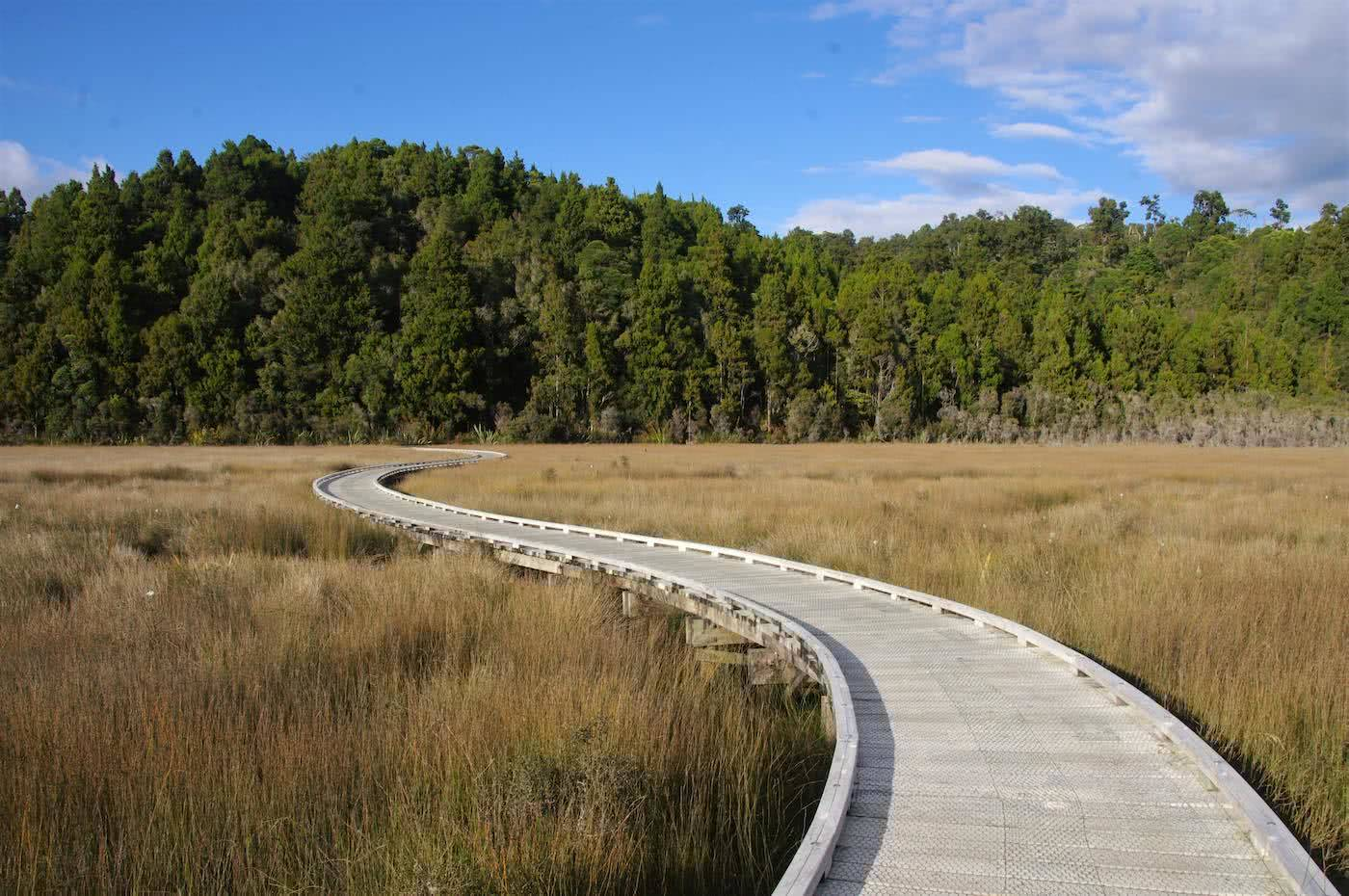 Create Your Own Playground // Ōkārito (NZ), wetlands, track