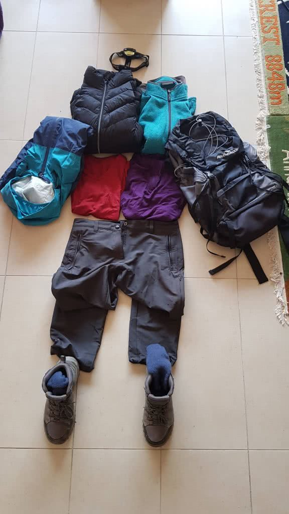 I Tested A Full Kit Of Cheap ALDI Hiking Gear Over Nearly 100km, hiking pack, boots, pants, shirt, fleece, jacket, head torch