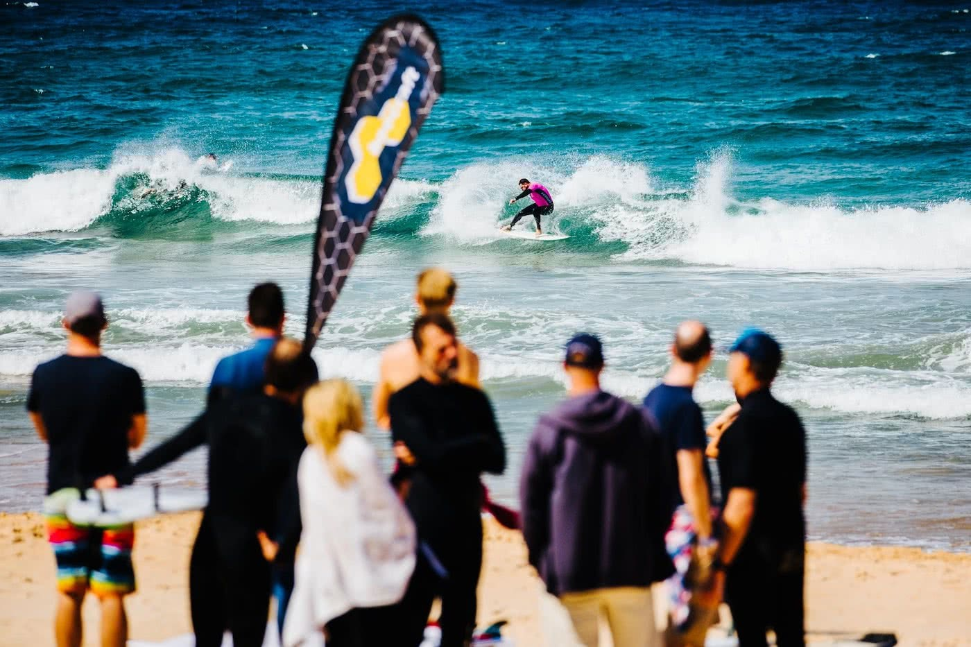 Get Barrelled For Good // Sign Up For The SurfAid Cup, ocean, wave, surfer, crowd