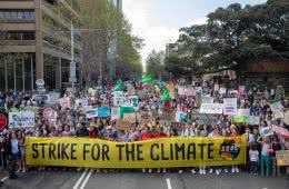 Climate Action Doesn't Stop Here – Write To Your Local Representative, photo courtesy of School Strike For Climate, crowd, Sydney, protest, climate strike
