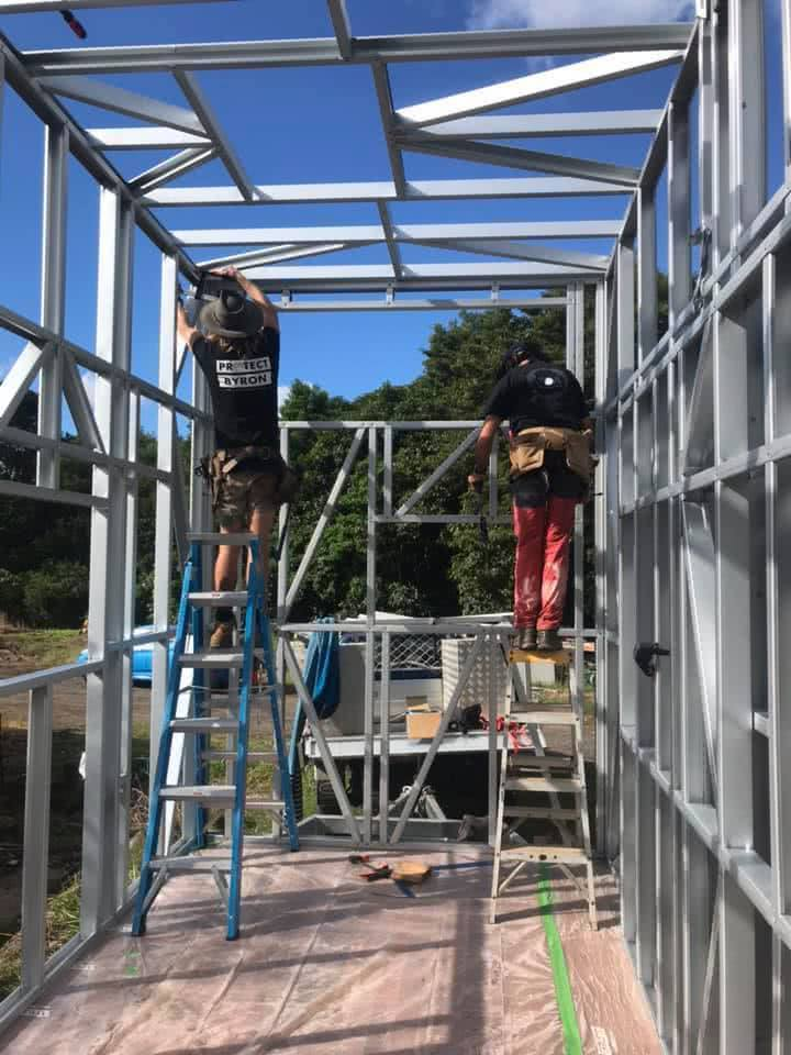 6 Things I Learnt While Building MyTinyHouse, couple, structures, construction