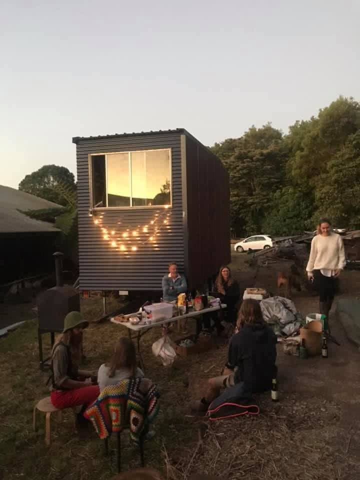 6 Things I Learnt While Building My Tiny House, tiny house, family, fairy lights
