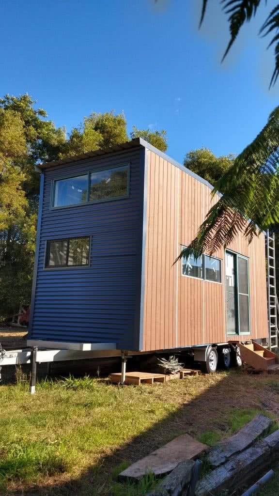 Alice Forrest, 6 Things I Learnt While Building MyTinyHouse, tiny house, trailer, complete