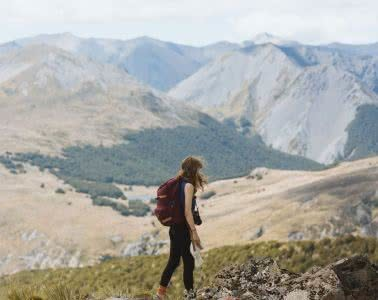 Cedric Tang, Bealey Spur // Day Hike in Arthurs Pass (NZ), woman, mountains