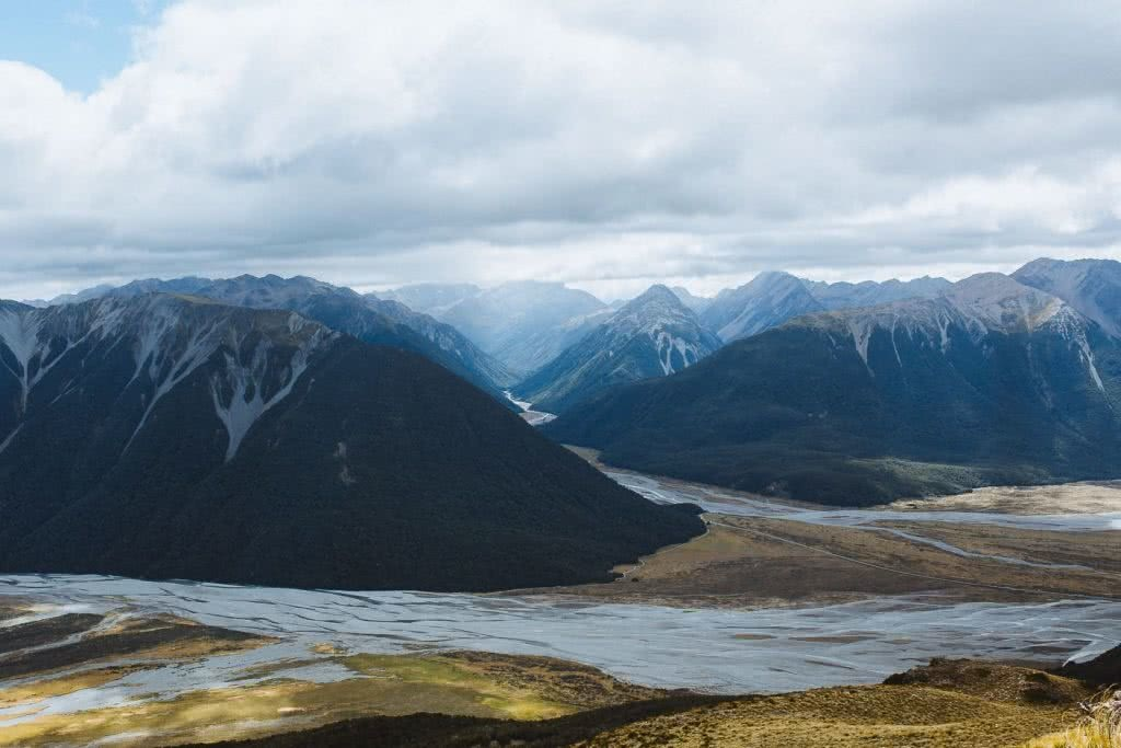 Cedric Tang, Bealey Spur // Day Hike in Arthurs Pass (NZ), mountains, rivers