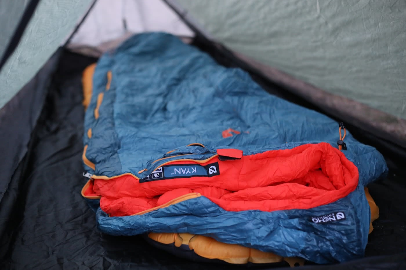 NEMO Kyan Mummy Bag & Tensor Ultralight Sleeping Pad // Gear Review by Mattie Gould Kyan bag