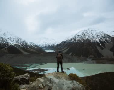 6 Hikes in New Zealand's South Island We Bet You Haven't Heard Of, Cedric Tang, woman, mountains, lake, snow