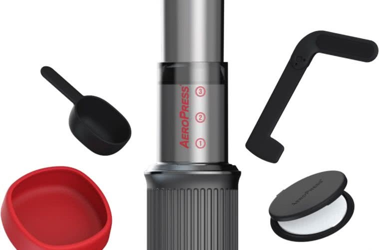 The New AeroPress Go That Packs Away Into Its Own Mug by Mattie Gould