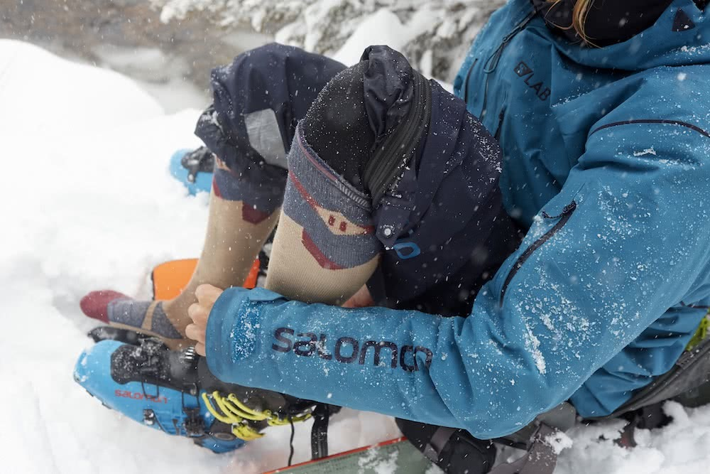 Le Send X Cody Townsend, Le Bent, Kosciuszko backcountry, skiing, ski touring, australian alps