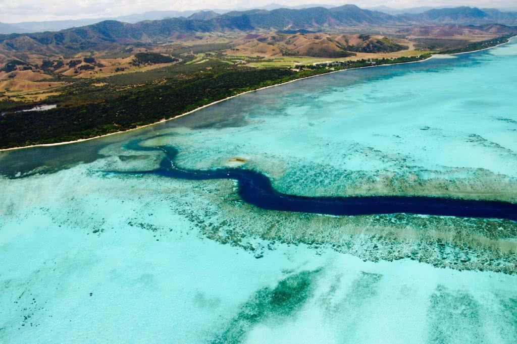 How Much Do You Really Know About New Caledonia?, photo supplied by New Cal tourism, ocean, land, overhead