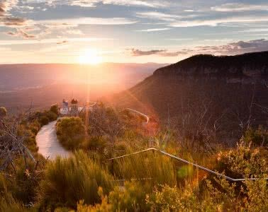 Radiata Plateau from Cahill's Lookout, photo by Rachel Dimond, Blue Mountains, Katoomba, NSW