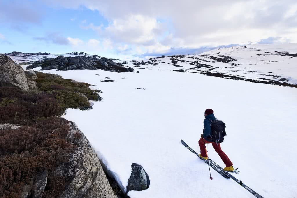 Arc'teryx Proton LT Review, Pat Corden, snow, skis, man, backcountry, jacket