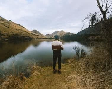 Walking, Swimming & Camping At Moke Lake // Queenstown (NZ), photo by Cedric Tang, Melody tang, hiking, moody, faded, queenstown, NZ, centred person